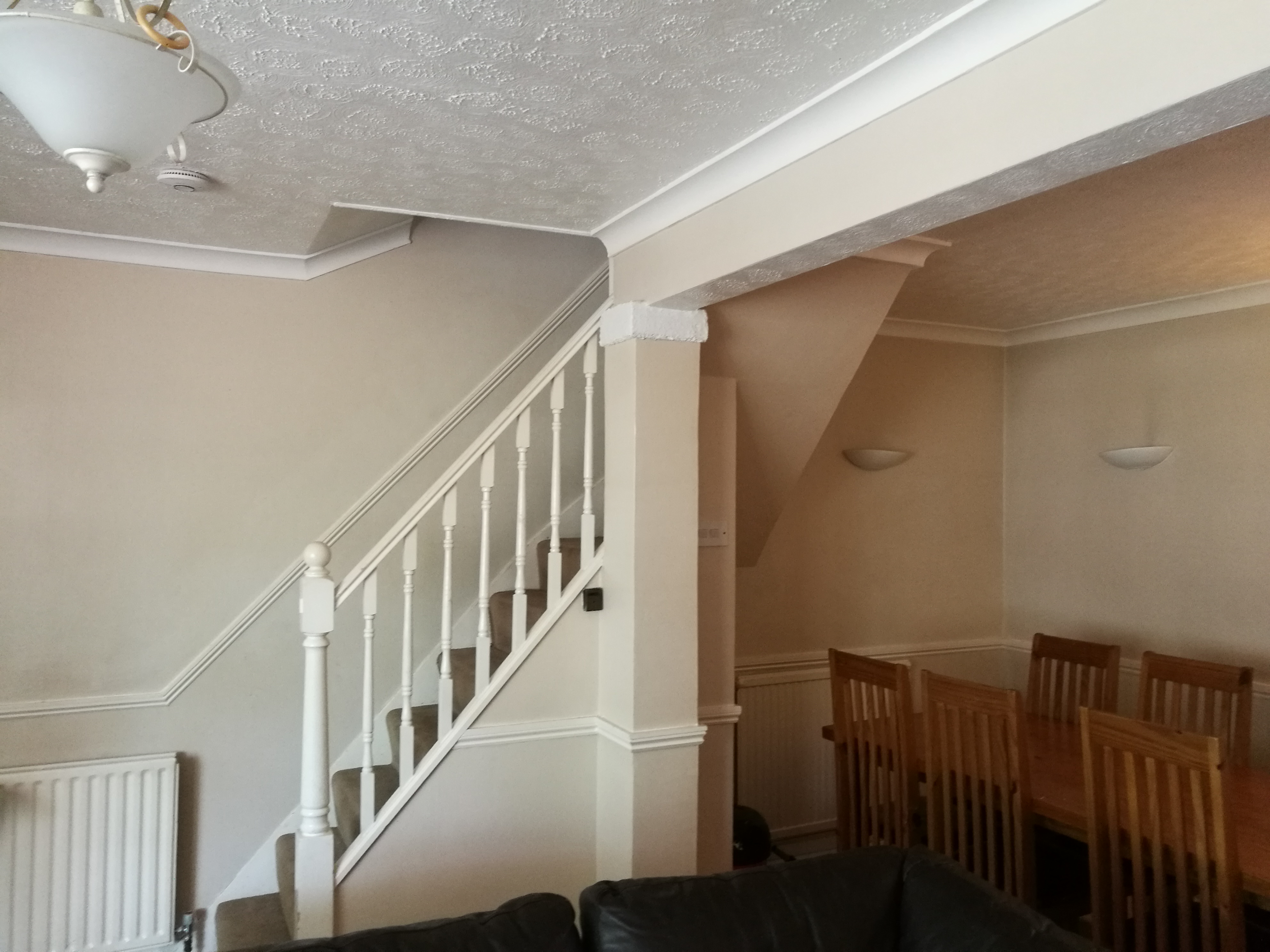 decorating living room with a dado rail all round